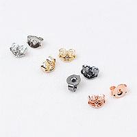 [8-8850-01] 뒷클러치/소 5*4mm (무니켈도금) [10개]